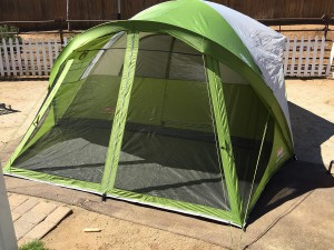 Coleman Evanston Screened 8 Tent & Coleman Evanston Screened 8 Tent - Pet Terrain