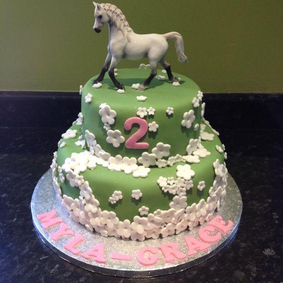 Birthday Cake Designs Horses